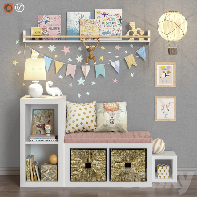Toys and furniture set 38