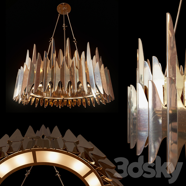 Chandelier Palermo by Zia Priven