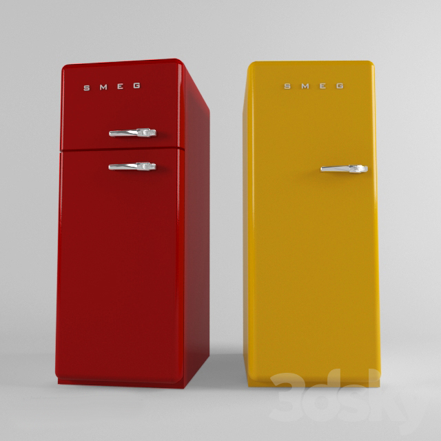 smeg retro fridge, freezer, refrigerator