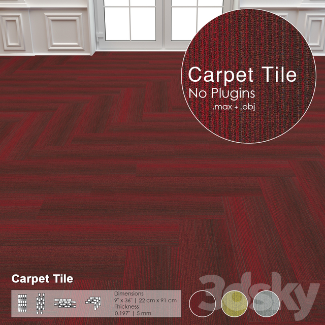 Models Carpets Carpet Tile