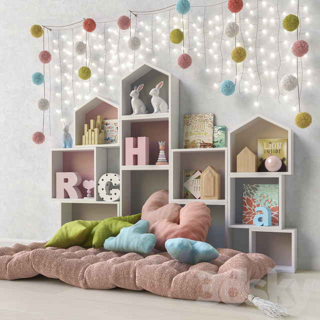 Toys and furniture set 41