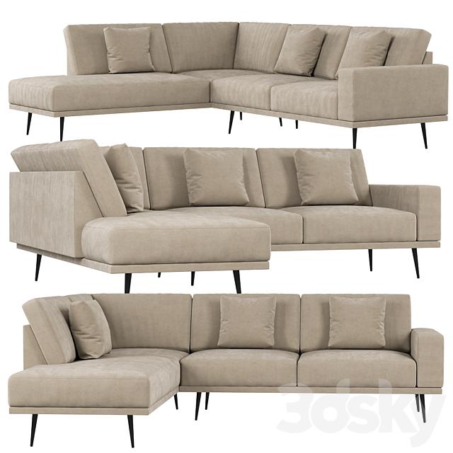 3d Models Sofa Boconcept Carlton Sofa