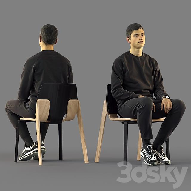 3d scan man 11