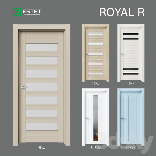 OM Doors ESTET: ROYAL-R collection
