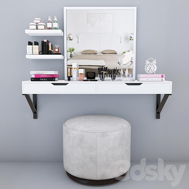 Dressing table decor set