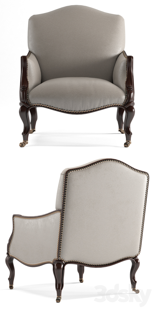Bergere Chair designed by Darryl Carter by Baker furniture