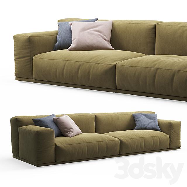 Delano 2-seater Sofa PIANCA