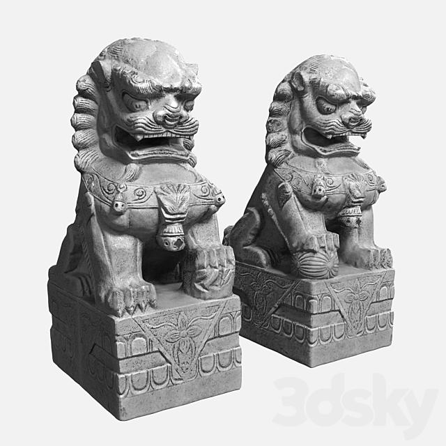 Buddha's Lions