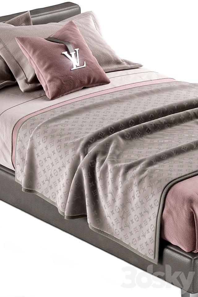 LOUIS VUITTON bed
