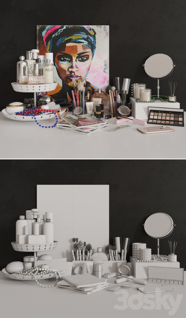 Set of cosmetics 01