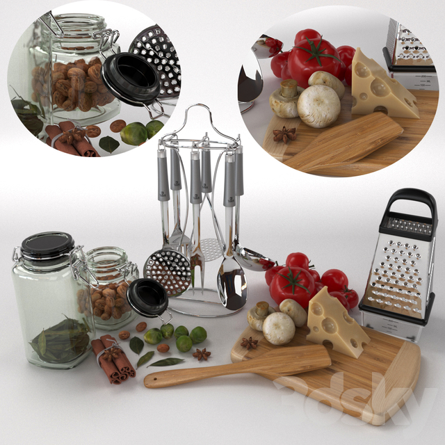 (For refilling) Set for the kitchen