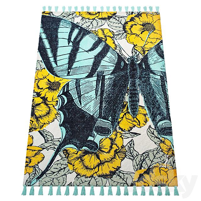 Thomas Paul Printed Blooming Butterfly 200TATP07A-P