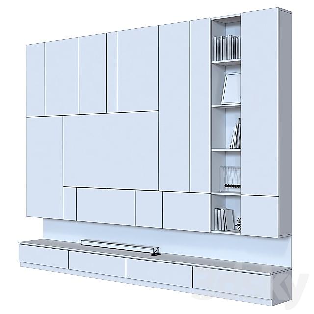 TV wall 018.