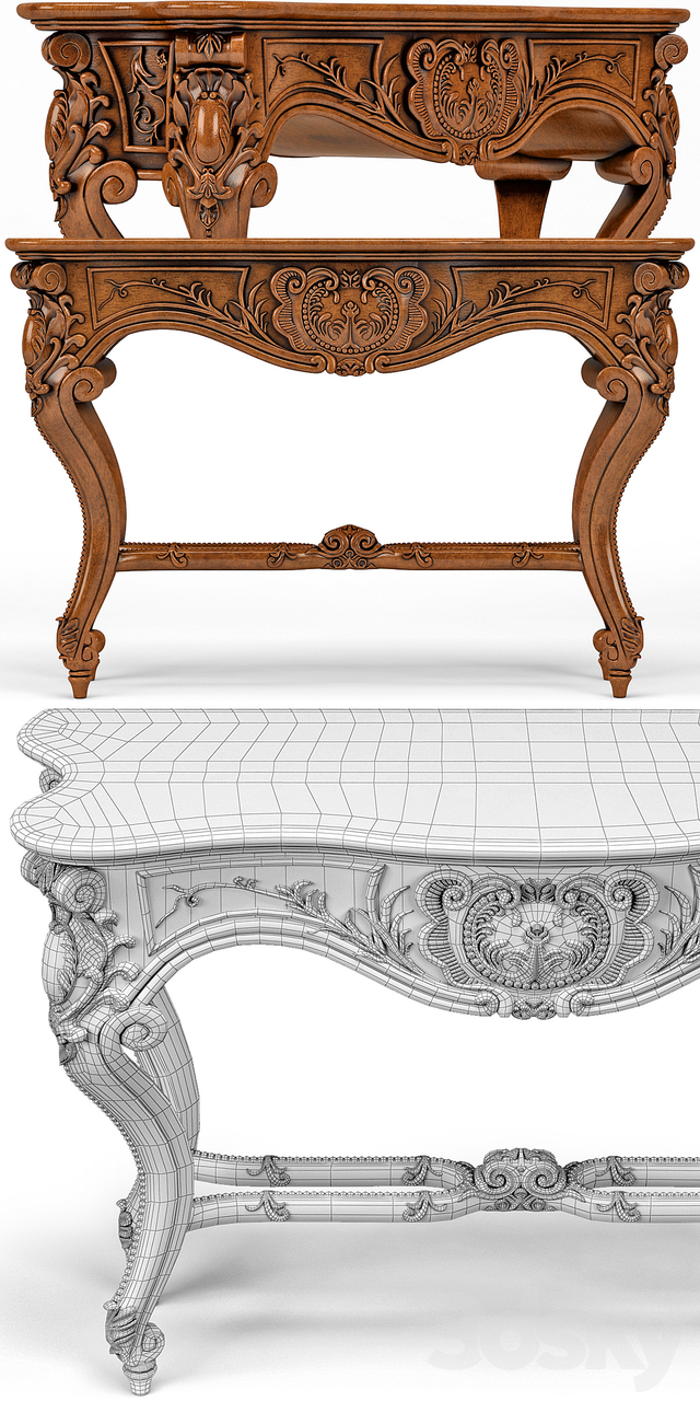 Louis XV Console Table