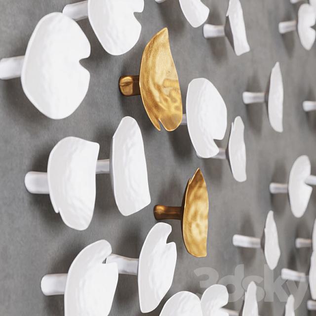 Art sculpture Calla lily _ set 1
