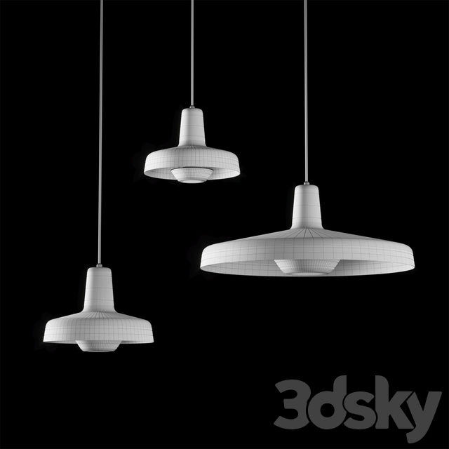 Arigato AR-P Lamps by Grupa