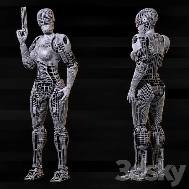 Robocop girl