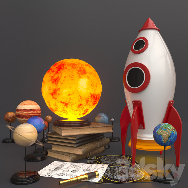 solar system kit for children for competition