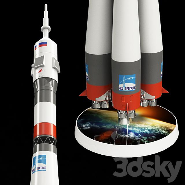 Model Rocket Carrier UNION (M1: 144)