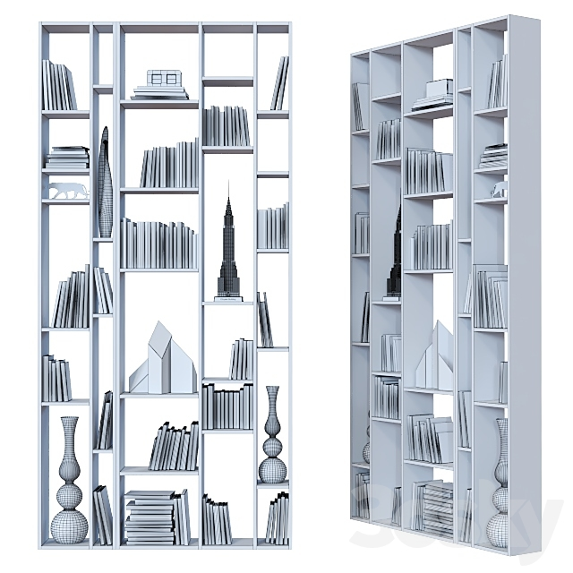 Double-sided shelving 011.