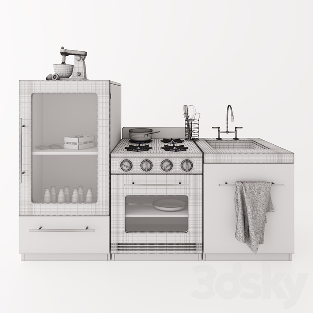 Pottery Barn Kids Gourmet Kitchen Collection
