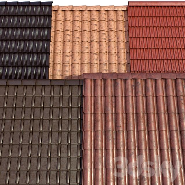 Metal tile and ceramic tile