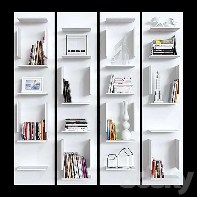 Modular bookcase Cattelan italia Fifty.