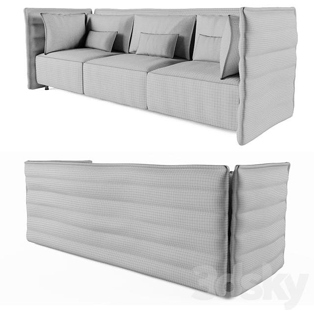 Sofa Alcove vitra 3 colors