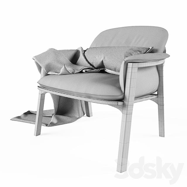 Fabric chair Tribu Nomad
