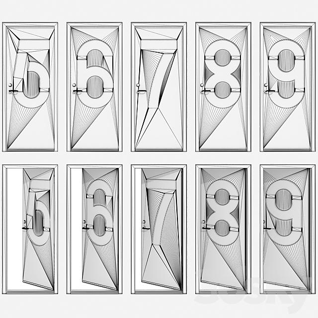 Door with numbers (Part II)