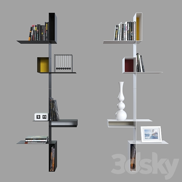 Shelves MDF Italia Randomissimo.