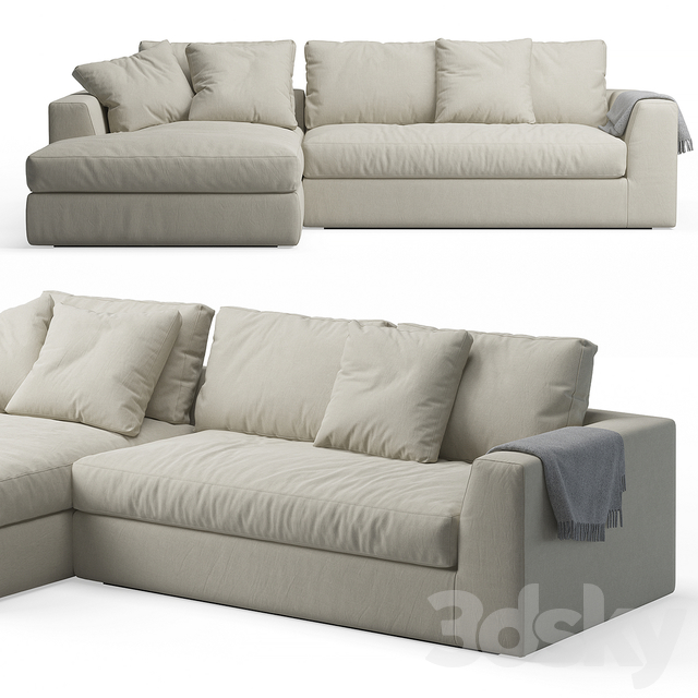 Louis plus Sofa Meridiani