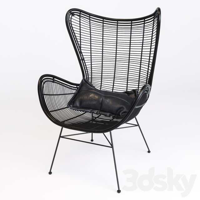 Hk Living Egg Chair.3d Models Arm Chair Hk Living Natural Rattan Egg Chair