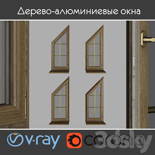 Wood - aluminum windows, view 04 part 03 set 03