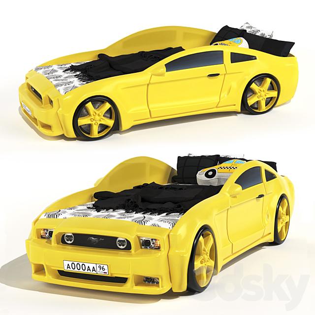 Children's bed - car