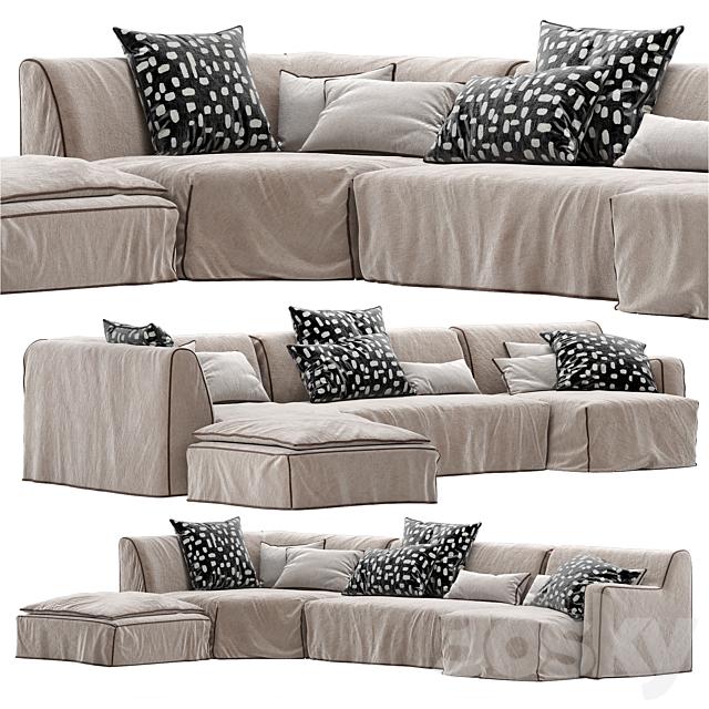3d models sofa gervasoni sofa more