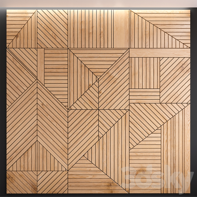 Decorative wall panel 01