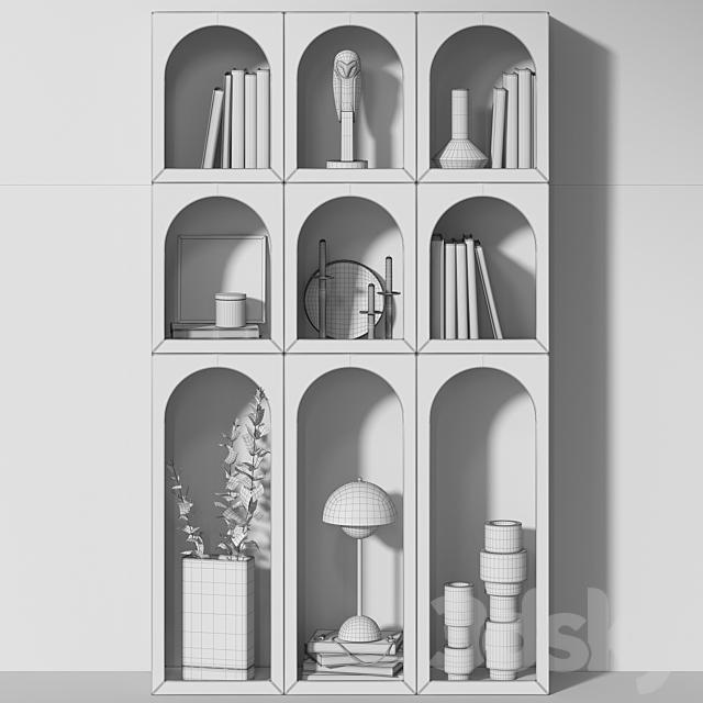 Bookcase Bonaldo set 03