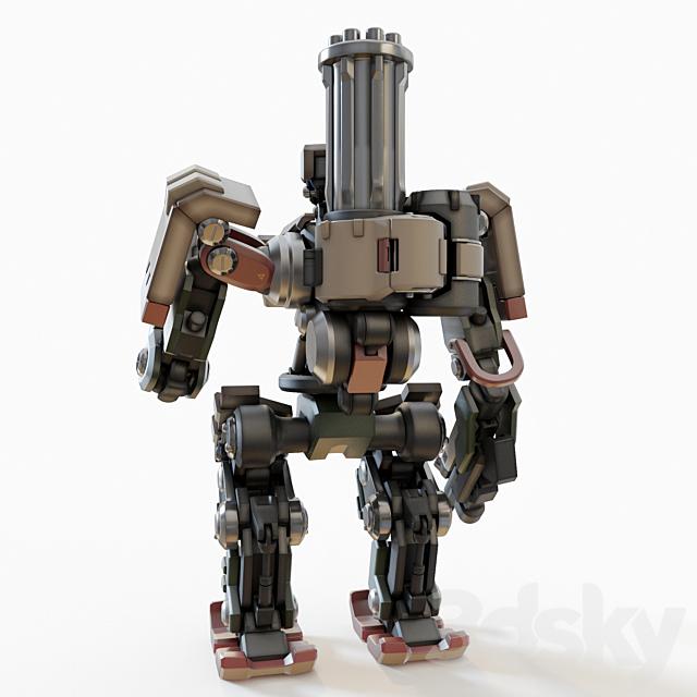 Overwatch bastion toy