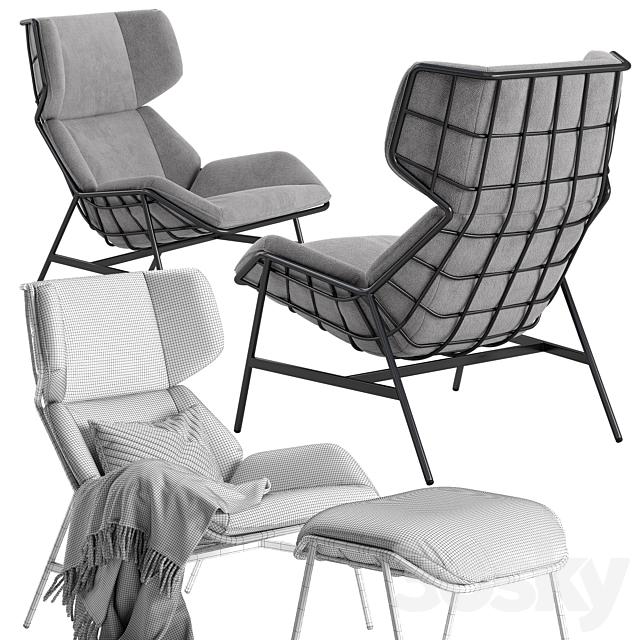 Varaschin Summer Set bergere armchair
