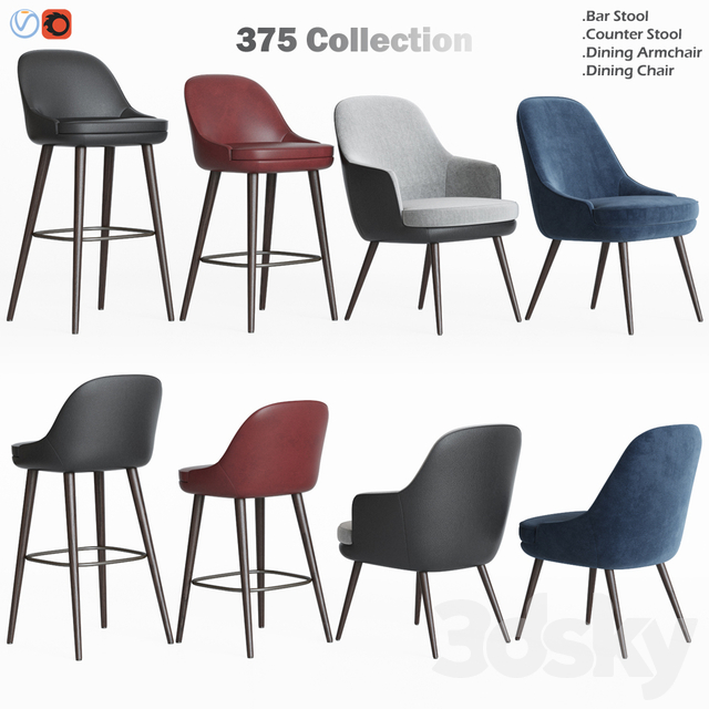 375 Walter Knoll Chairs Collections
