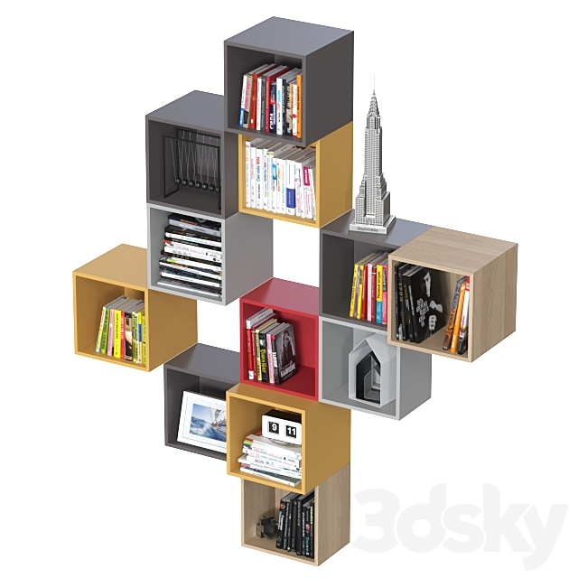 Combination wall cabinets IKEA Eket 3.