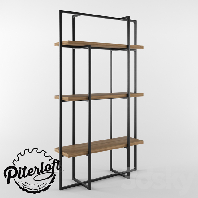 "Rack in the style of loft ""Howard"""