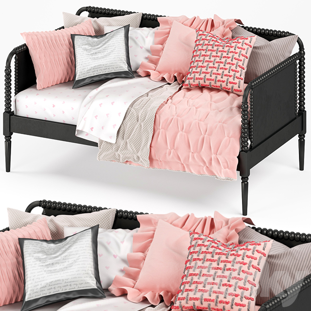 Crate & Barrel JENNY LIND DAYBED