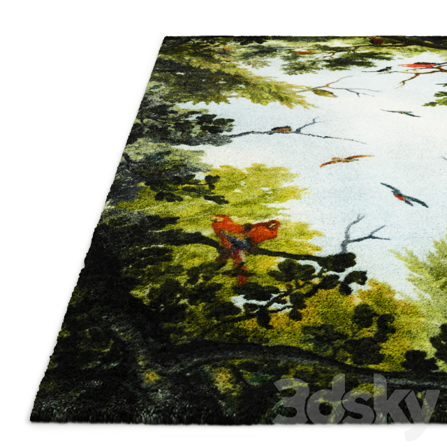 Cielo and Terra Rug by Opinion Ciatti