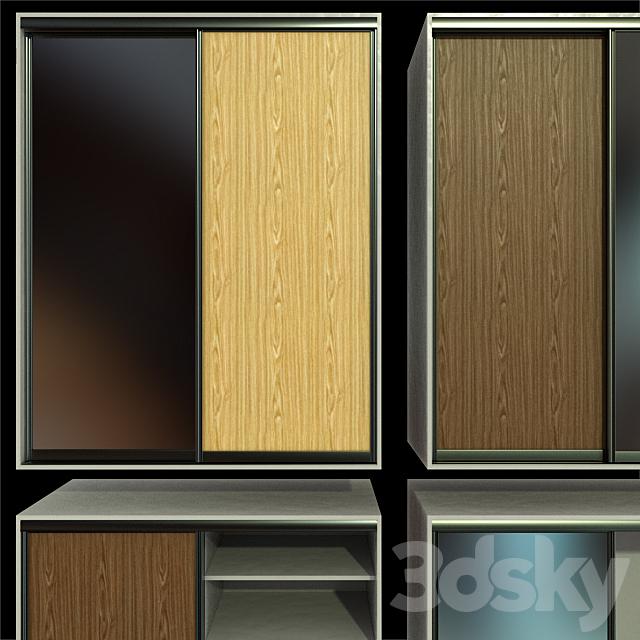 Wardrobe, wardrobe, sliding doors