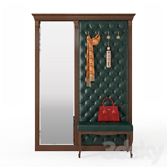 Benefit furniture B5-7-2 hanger with bench B4-4