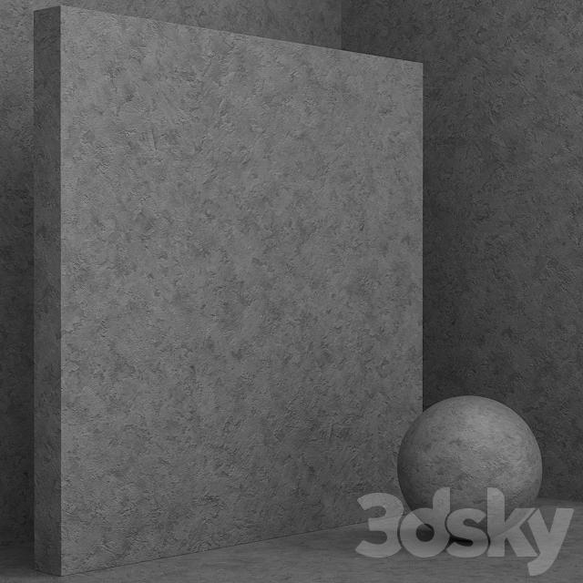 Material (seamless) - concrete plaster set 109