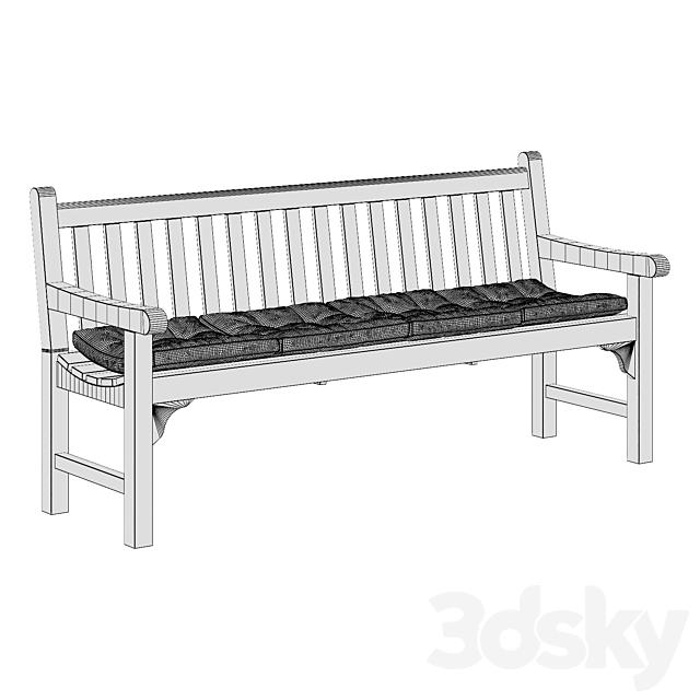 Skagerak england bench