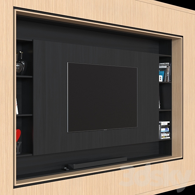 TV wall 033.